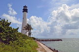 Key Biscayne Lighthouse View Stock Photos