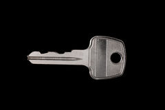 Key on black Stock Image