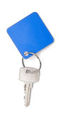 Key with a blank tag Stock Images