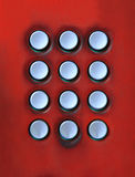 Key board of number press button on public telepho Royalty Free Stock Photos