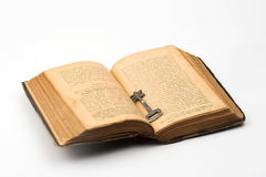 Key and book Royalty Free Stock Photos
