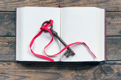 Key and book Stock Image