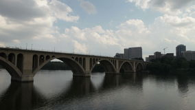 Key Bridge, Georgetown stock video