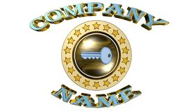 Key,business success,team work,logo Stock Images