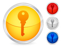 Key button Royalty Free Stock Photo