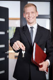 Key for buyer Stock Photo