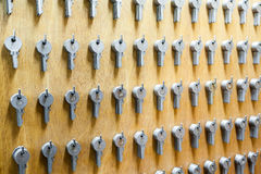 An key cabinet Royalty Free Stock Image