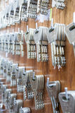 An key cabinet Royalty Free Stock Photo