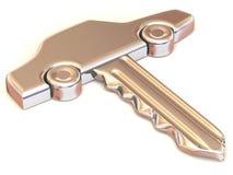 The key of the car Stock Photos