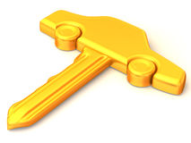 The key of the car Royalty Free Stock Photos