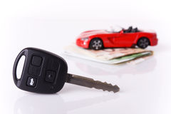 Key Car Stock Photo