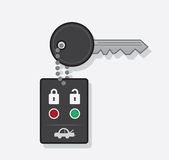 Key Car Chain Stock Image
