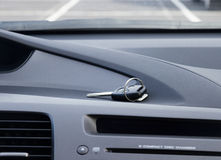 Key on car dashbosrd Stock Photography