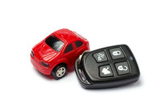 Key car isolated Stock Image