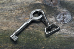 Key and carabiner Stock Images