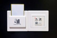 Key card socket Stock Images