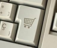 Key cart stock image