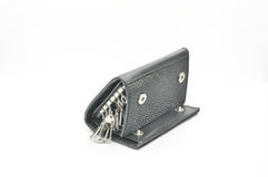 Key case, purse and wallet Stock Photo
