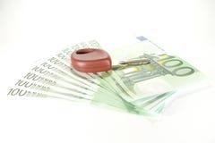 Key on cash Royalty Free Stock Image