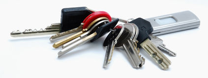 key chain Royalty Free Stock Photos
