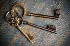 Key Chain Royalty Free Stock Photo