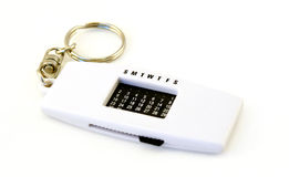 Key Chain Calendar Stock Photography