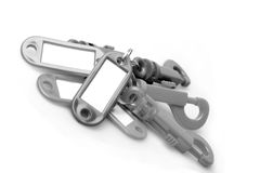 Key chain and key indicator sets Royalty Free Stock Image