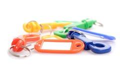 Key chain and key indicator sets Stock Photography