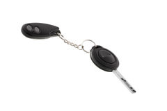 Key charm from car Royalty Free Stock Photo