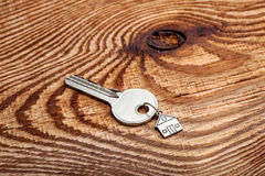 Key about a charm form hous. Royalty Free Stock Image