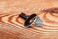 Key about a charm form hous. Stock Images