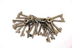 Key collection. Collection of keys Stock Photography