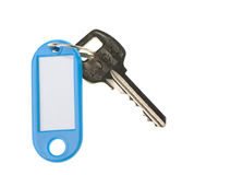 Key with color trinket Royalty Free Stock Photo
