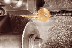 Key copying machine Stock Image