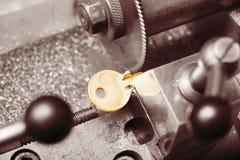 Key copying machine Royalty Free Stock Image