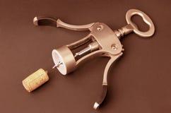 Key-corkserew. Royalty Free Stock Photos