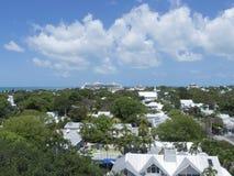 key den västra panoramat Arkivbild