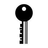 Key door isolated icon Stock Image