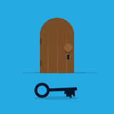 Key Door Stock Images