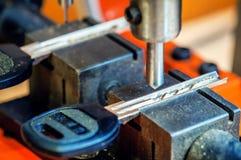 Free Key Duplication Machine Locksmith Royalty Free Stock Images - 116264389