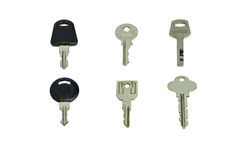 Key. Equipment isolated key metal object Royalty Free Stock Images