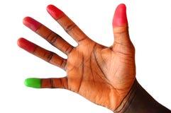 Key Finger stock image
