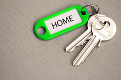 Key fob home Stock Images