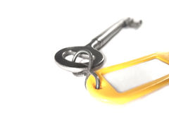 Key and fob isolated Royalty Free Stock Photography