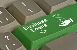 Free Key For Business Loans Royalty Free Stock Photo - 182626735