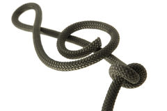 Key From Rope Royalty Free Stock Photography