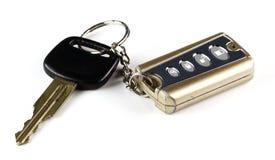 key gammal remote för bil Royaltyfri Bild