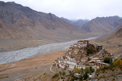 Key Gompa royalty free stock image