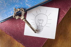 Key for good idea Stock Images