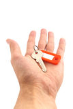Key in hand. Stock Photo